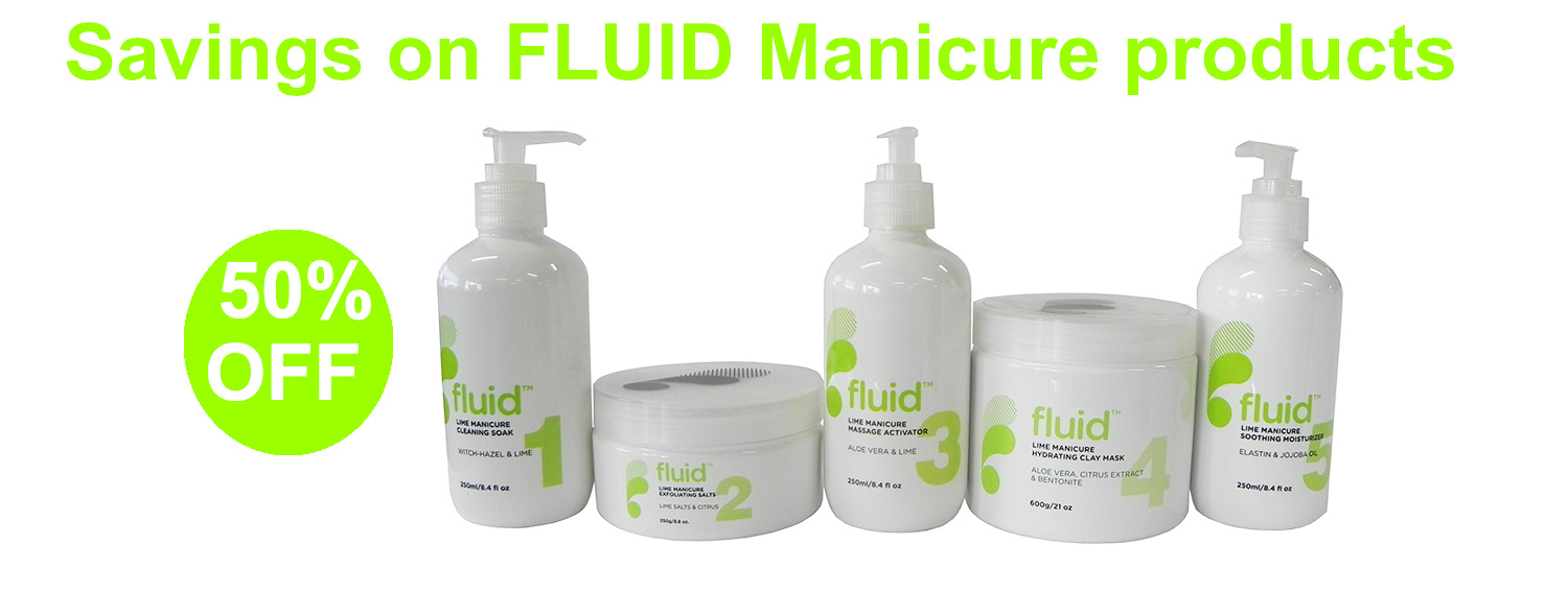 50% OFF Fluid Manicure Products